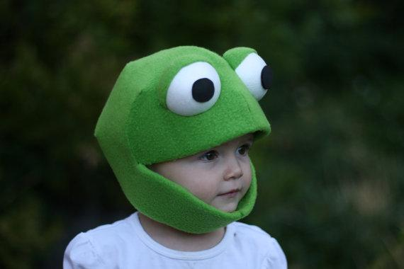 Frog Mask Size Small by JustZipity on Etsy