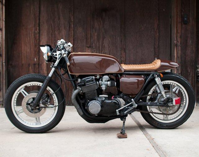 1978 Honda CB750 Espresso Cafe Racer | Fancy Crave