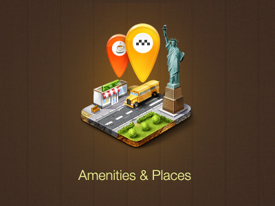 Amenities & Places by Egor Kosten