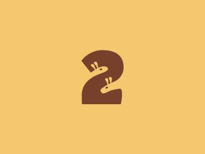Two Giraffes Logo by Sean Farrell