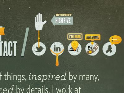 Social Nav Icons by Joe Barrett