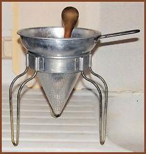 vintage colander strainer pestle | eBay