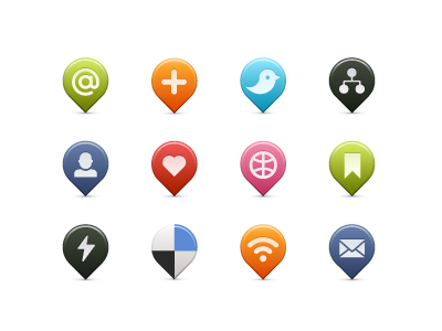 Social Media Icons by Tom Nulens