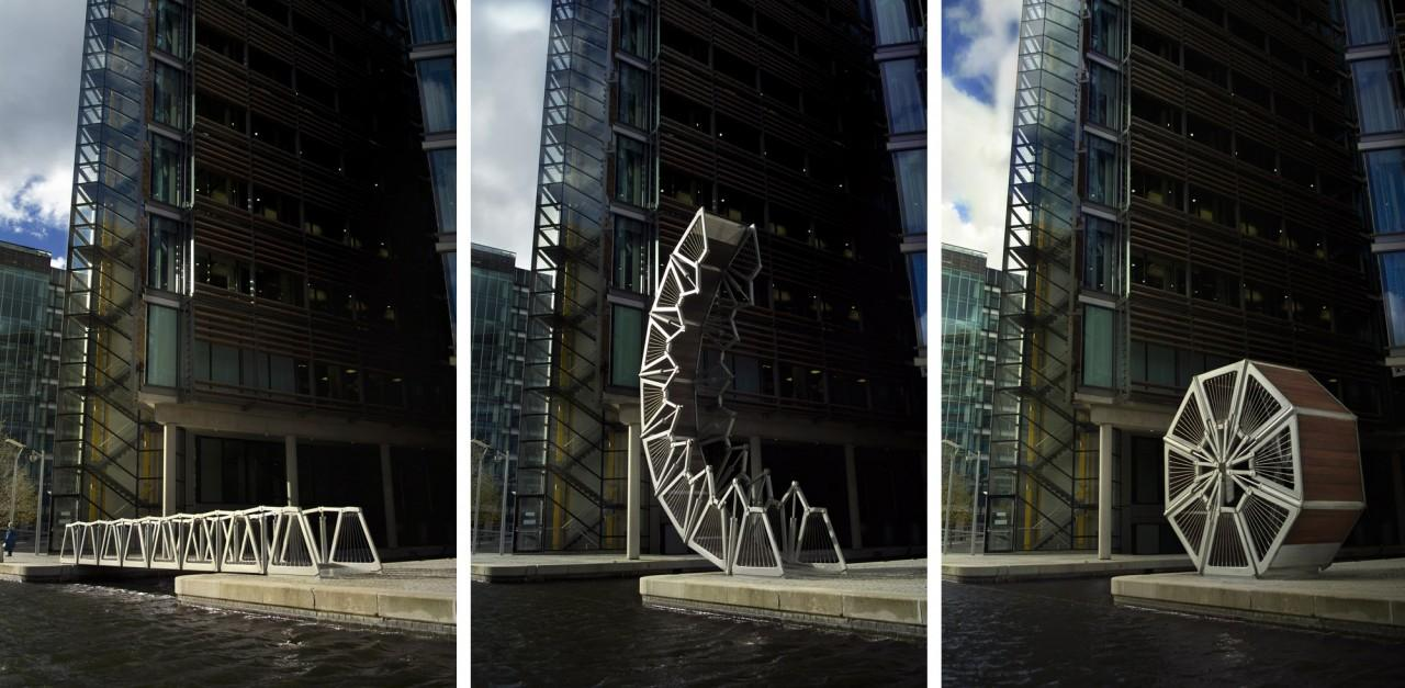 Rolling Bridge « Heatherwick Studio