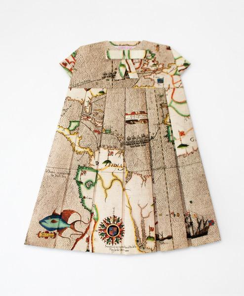 Elizabeth Lecourt - Les Robes Geographiques | Patternbank