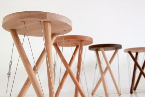 Snelson Stool | Leibal Blog