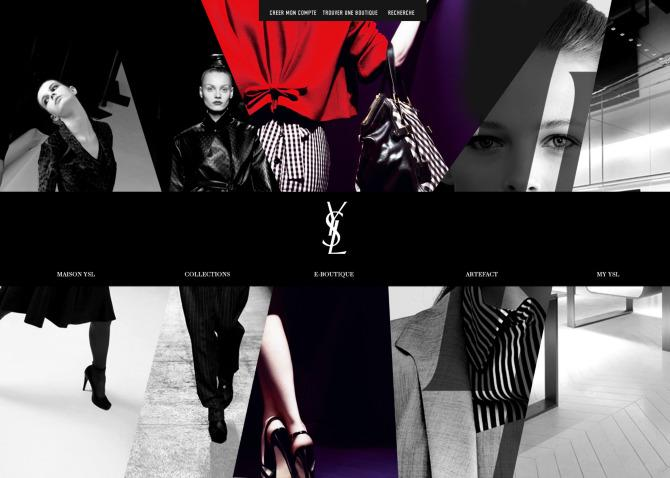 YVES SAINT LAURENT 2009 - we are type