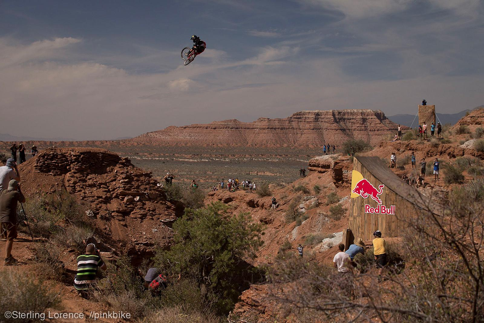 at 2012 Redbull Rampage in Virgin, Utah, United States - photo by sterlinglorence - Pinkbike