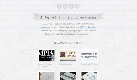 30 Brilliant Examples of Texture in Web Design   Inspiration