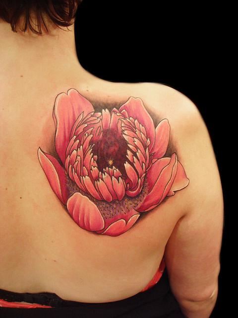 Anemone flower tattoo | Flickr - Photo Sharing!
