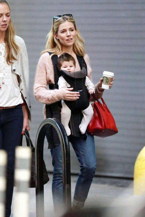 Sienna Miller with Marlowe Sturridge | Celebrity-gossip.net