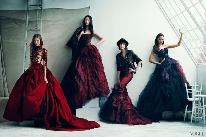 Stylish Celebrities Pose for Vogue's 120th Anniversary - My Modern Metropolis