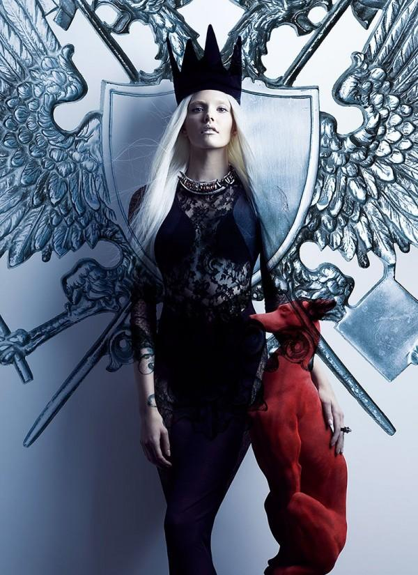 Your Majesty by Chris Nicholls for Flare Dec. 2011 | Trendland: Fashion Blog & Trend Magazine