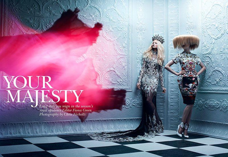 Your Majesty by Chris Nicholls for Flare Dec. 2011 chris-nicholls-your-majesty-editorial-flare-magazine – Trendland: Fashion Blog & Trend Magazine
