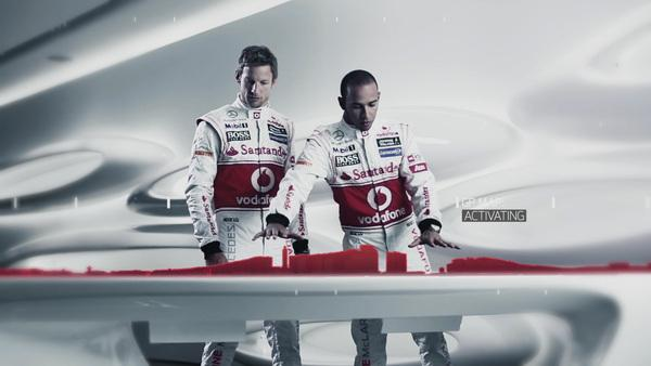 Le Grand Prix de Londres par Santander sur Motion Graphics Servi