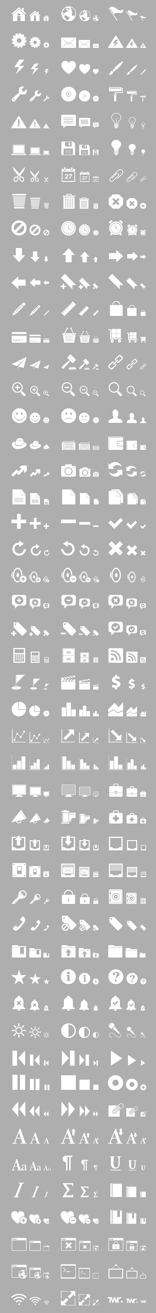 Retina Display Icon Set | Blog | The Working Group
