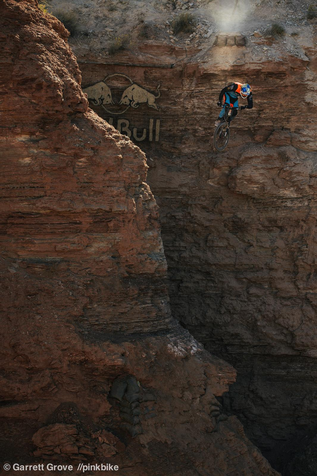 Brandon Semenuk at Redbull Rampage in Virgin, Utah, United States - photo by garrettgrove - Pinkbike