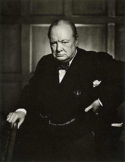 Art Contrarian: Molti Ritratti: Winston Churchill