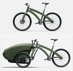 trioBike convertible carrier/bicycle - Core77