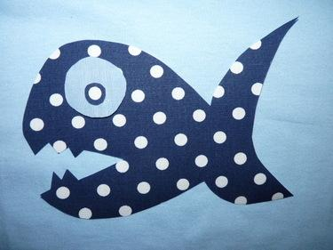 T-Shirt Fisch - T-Shirts von naehstueble - T-Shirts - Kinderkleidung - DaWanda