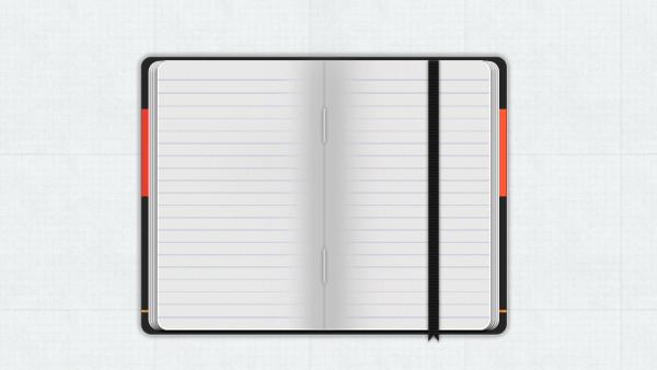 Moleskine Notebook PSD | PixelsDaily
