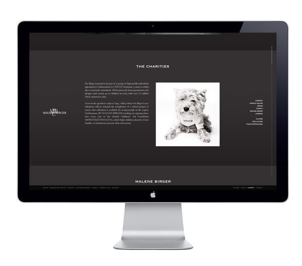 By Malene Birger E-com v.2 on Web Design Served