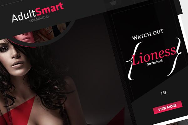 Adult Smart on Web Design Served