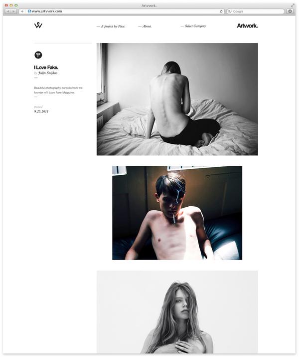 Artvvork. on Web Design Served