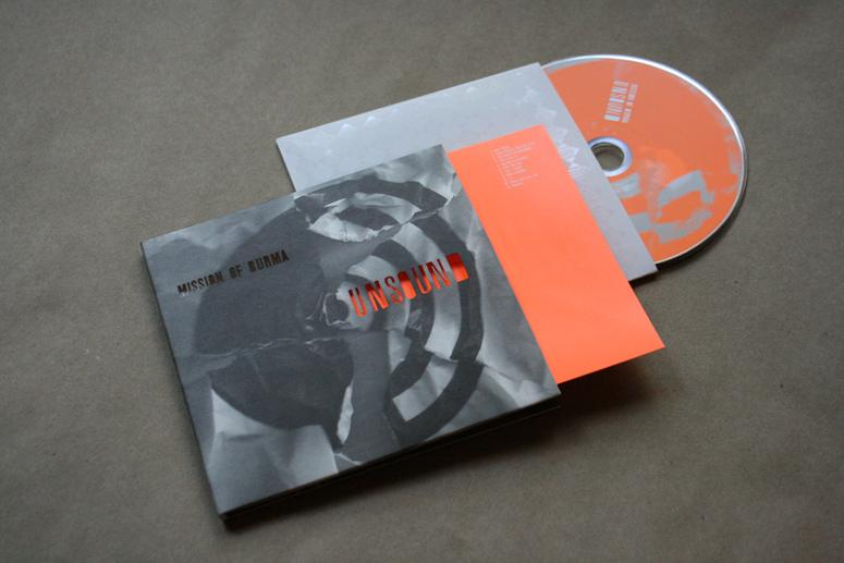 FPO: Unsound by Mission of Burma CD Packaging