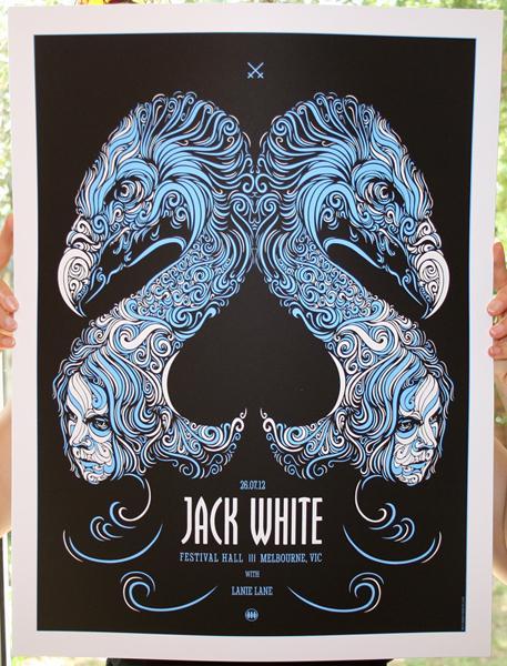 GigPosters.com - Jack White - Lanie Lane