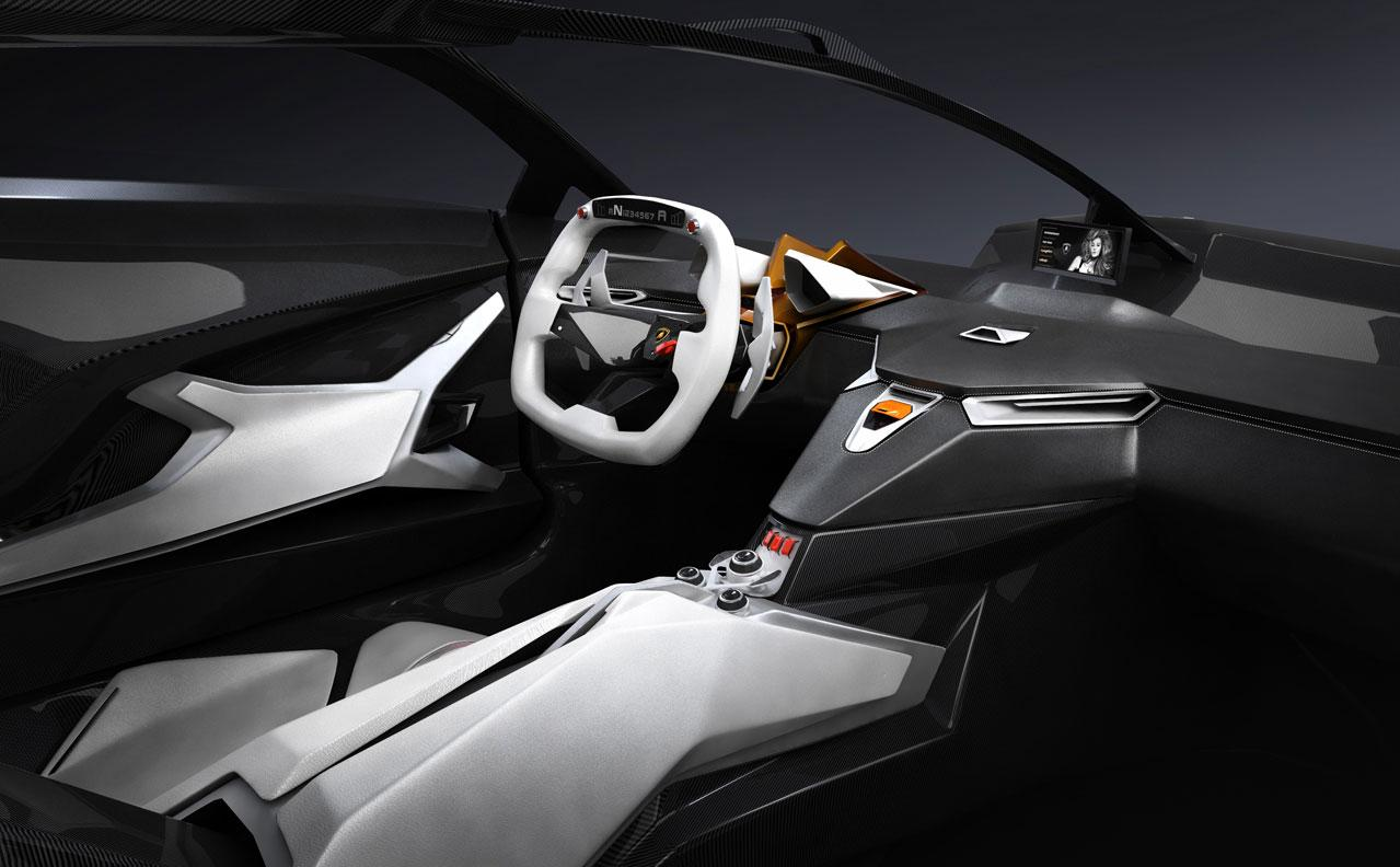 Lamborghini Perdigon Concept Interior - Car Body Design