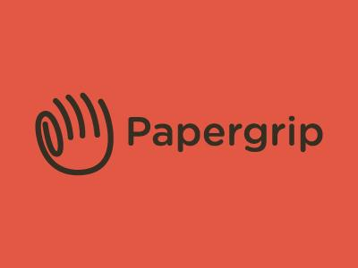 Papergrip Logo by Evan Stremke