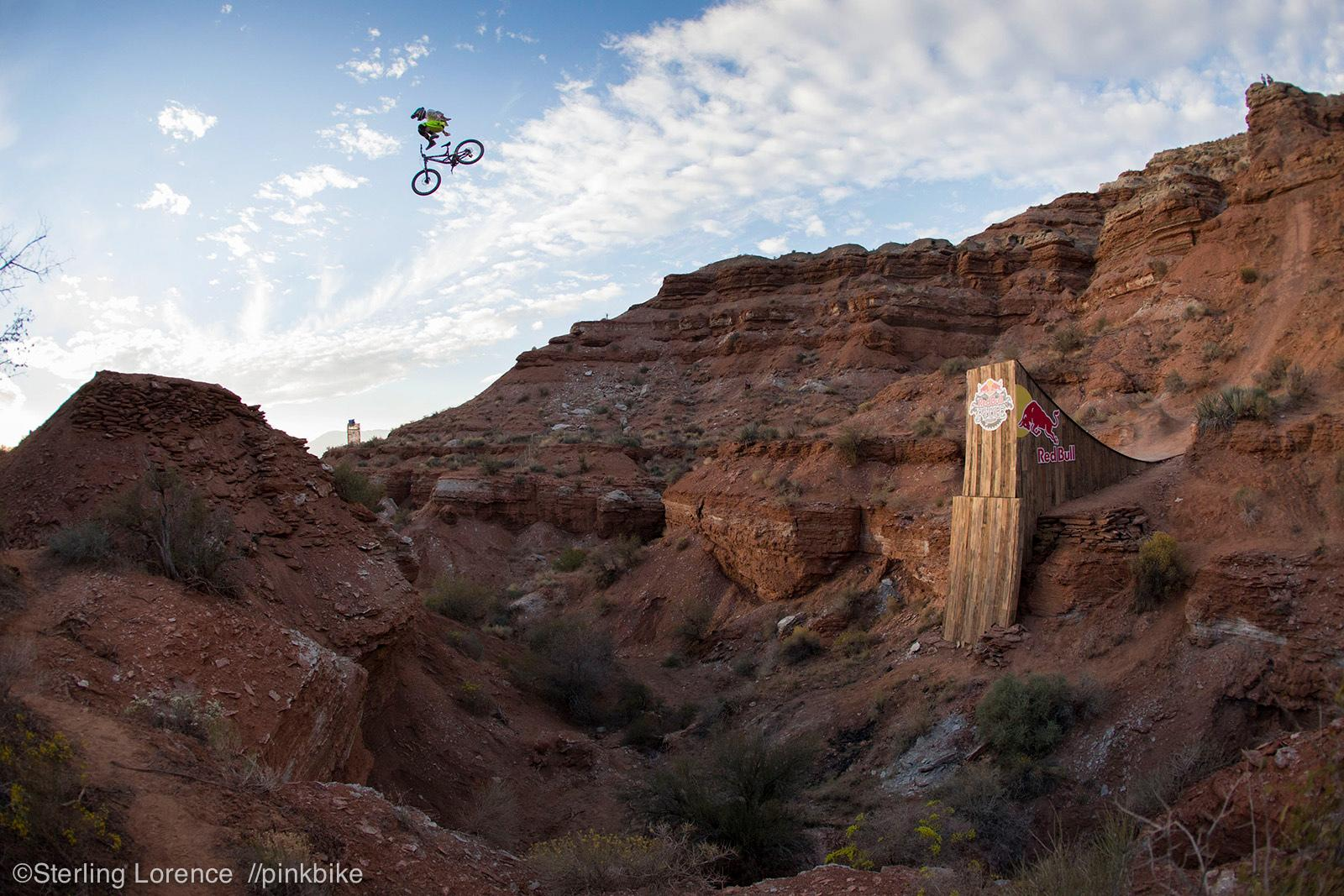 Cameron Zink at 2012 Redbull Rampage in Virgin, Utah, United States - photo by sterlinglorence - Pinkbike