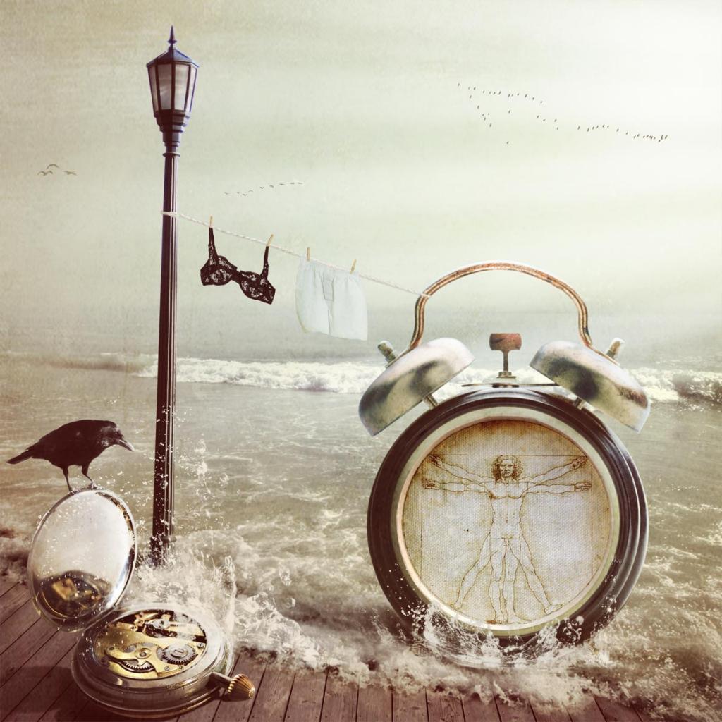 À La Recherche Du Temps by Kinga Britschgi - Fantasy Artist