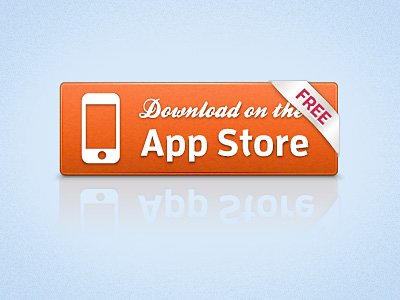 App Store Button by Zach Acuna