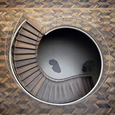 yearslater: staircase Arne Jacobsen - The Architecture Blog