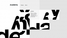 Style: Black and White websites, page three - Web design inspiration from siteInspire