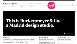 Style: Black and White websites, page four - Web design inspiration from siteInspire