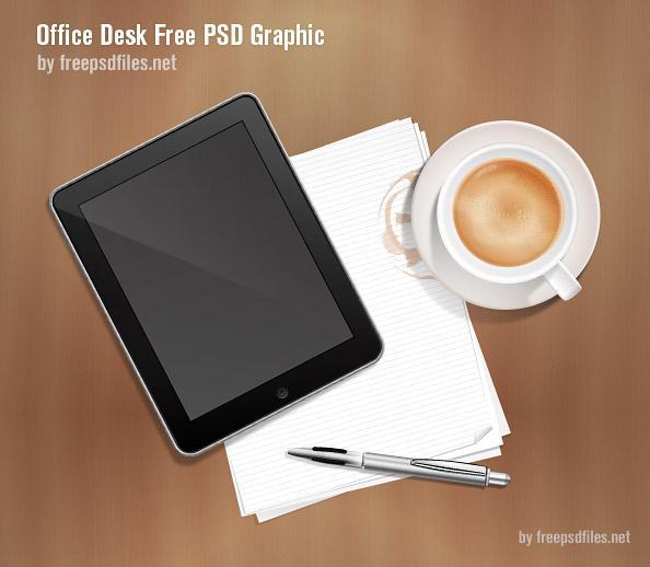 Office Desk PSD | Free PSD Files