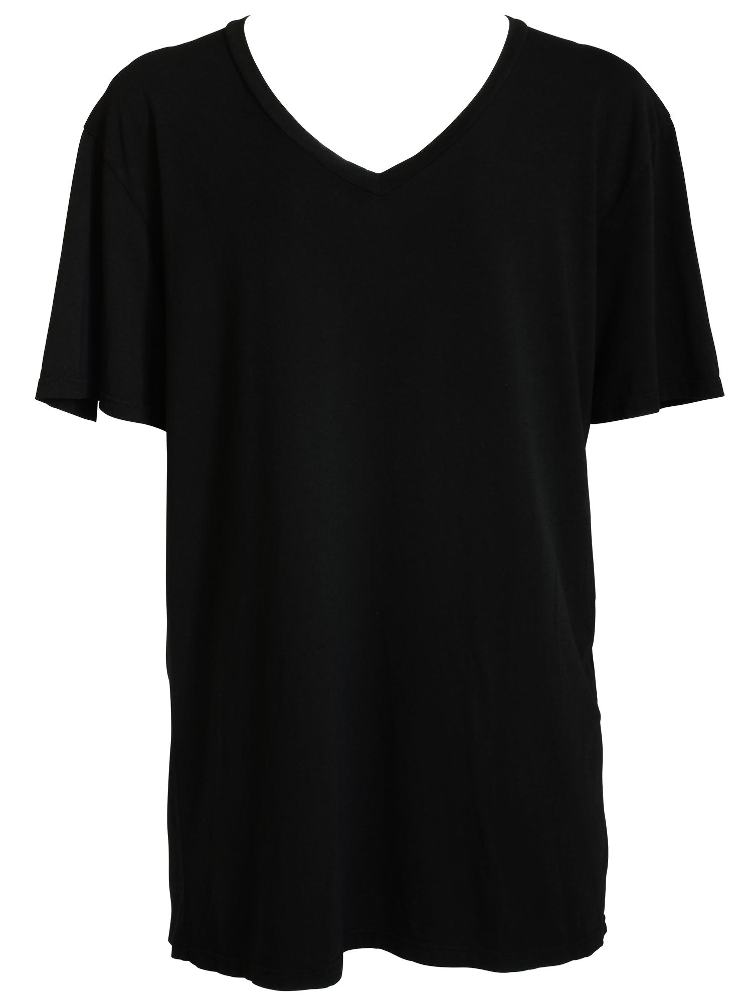 Short-Sleeved V-Neck Tee | Fashioning Change ®