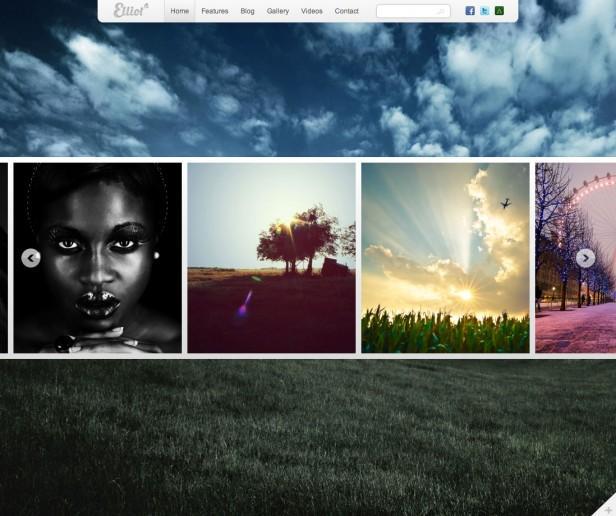 Elliot – HTML Template | Luis Zuno| Free web resources