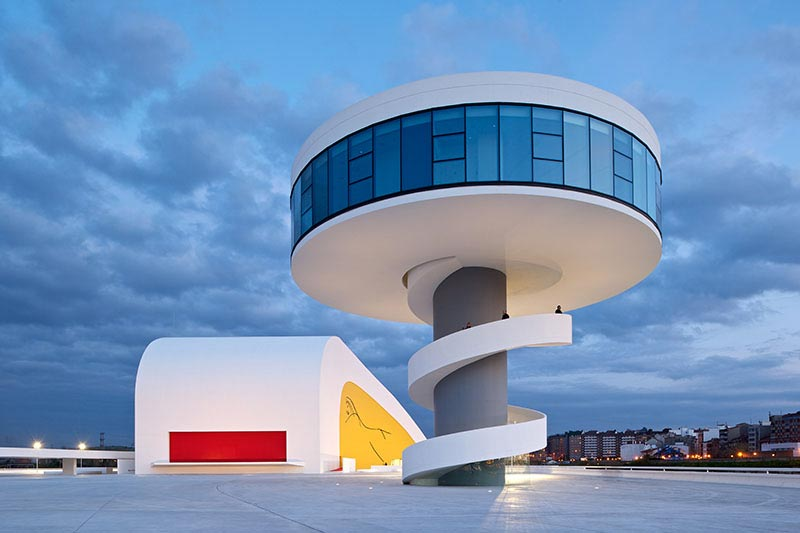 Architecture Photography: Niemeyer Center by Oscar Niemeyer Closing - Niemeyer Center / Oscar Niemeyer (185309) - ArchDaily