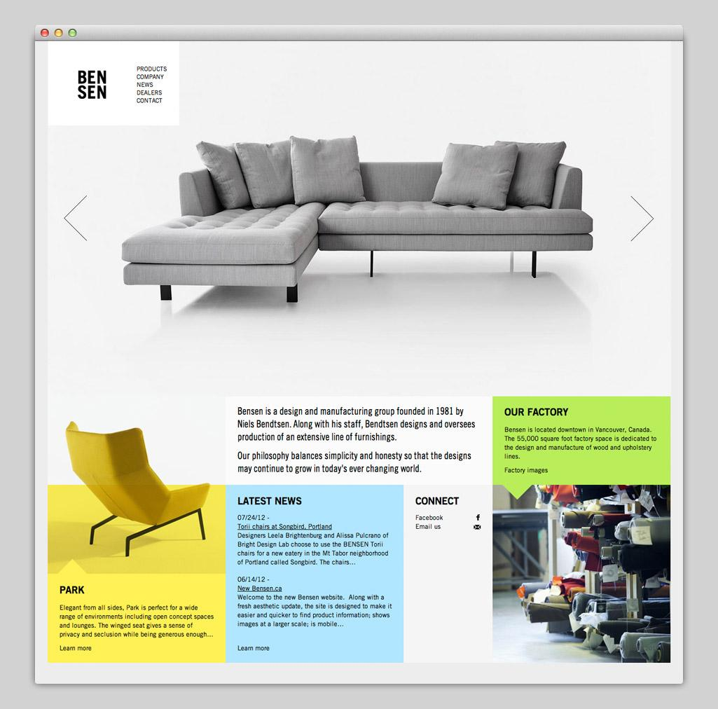 Websites — BENSEN