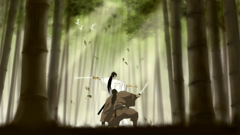 trees,forest trees forest birds fighter grass bamboo samurai long hair duel kimono sunlight anime ninja scroll sw – trees,forest trees forest birds fighter grass bamboo samurai long hair duel kimono sunlight anime ninja scroll sw – Grass Wallpaper – Desktop Wallpaper