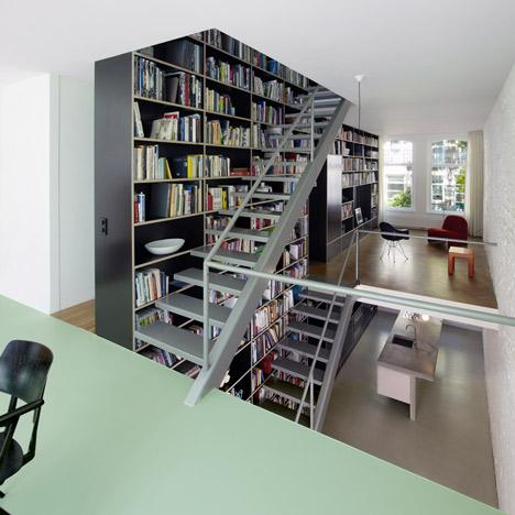 Vertical Loft house with three-storey by Shift