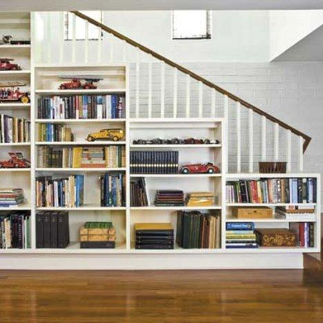 The Literate Home: 7 Space-Saving Built-In Bookshelves - Yahoo! Homes