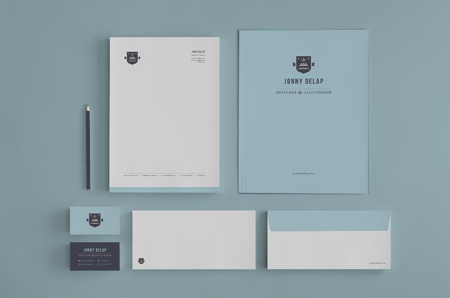 Stationery - Jonny Delap | Designer & Illustrator