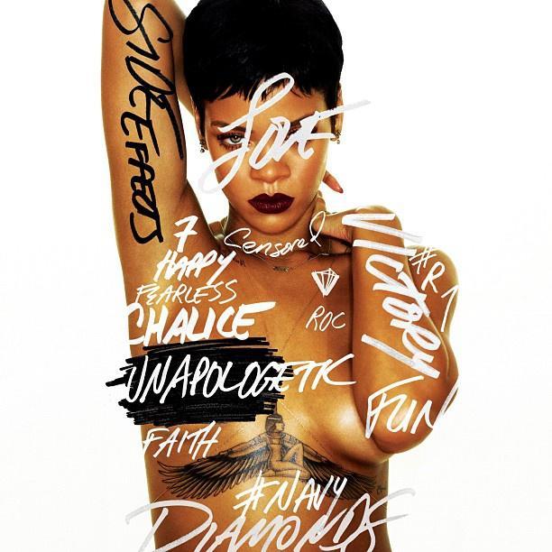 Velvet - Blogok - Meztelenül pózol borítóján Rihanna
