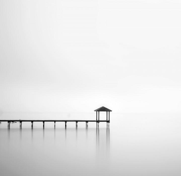 Minimalist Black and White Photography by Mora Lubis