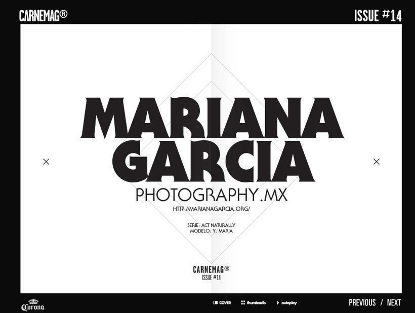 ACT NATURALLY - Mariana Garcia — Photographer